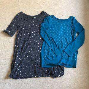 Girls 8 Shirt and Dress 👗👚